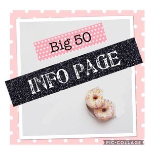Other - Big 50 Share Group Info Page/❤️4 reminders